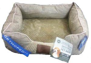 מיטה לכלב אורטופדית