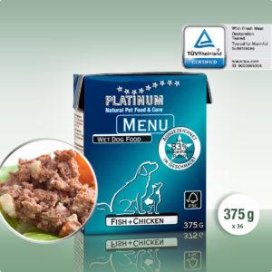 פלטינום אוכל לכלבים פטה