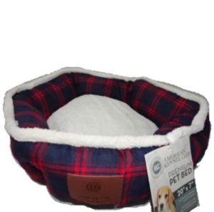 מיטה לכלב בצורת משושה